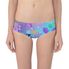 Butterfly Vector Background Classic Bikini Bottoms