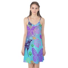 Butterfly Vector Background Camis Nightgown