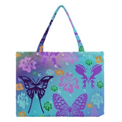 Butterfly Vector Background Medium Tote Bag