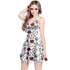 Body parts Reversible Sleeveless Dress