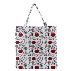 Body parts Grocery Tote Bag