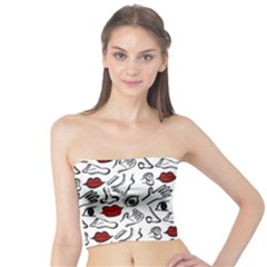Body parts Tube Top