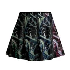 Wild child Mini Flare Skirt