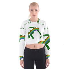 St. Patricks Women s Cropped Sweatshirt