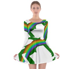 St  Patricks Long Sleeve Skater Dress