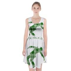 St. Patrick s day Racerback Midi Dress