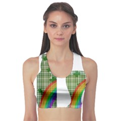 St. Patrick s day Sports Bra