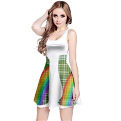 St. Patrick s day Reversible Sleeveless Dress