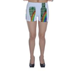 St. Patrick s day Skinny Shorts