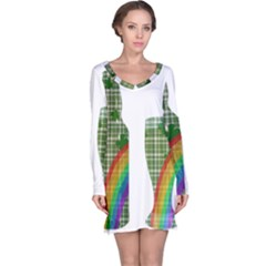St. Patrick s day Long Sleeve Nightdress