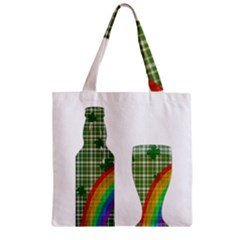 St. Patrick s day Zipper Grocery Tote Bag