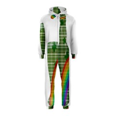 St. Patrick s day Hooded Jumpsuit (Kids)