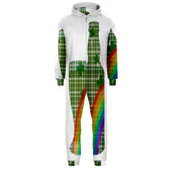 St. Patrick s day Hooded Jumpsuit (Men)