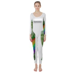 St. Patrick s day Long Sleeve Catsuit