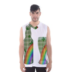 St. Patrick s day Men s Basketball Tank Top
