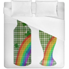 St. Patrick s day Duvet Cover (King Size)