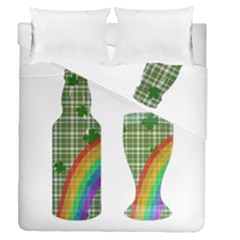 St. Patrick s day Duvet Cover Double Side (Queen Size)