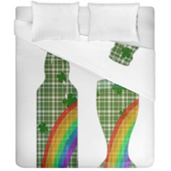 St. Patrick s day Duvet Cover Double Side (California King Size)
