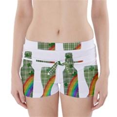 St. Patrick s day Boyleg Bikini Wrap Bottoms