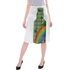St. Patrick s day Midi Beach Skirt