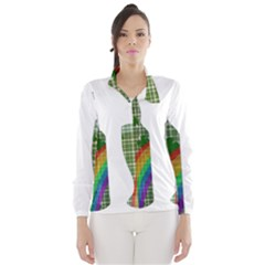 St. Patrick s day Wind Breaker (Women)