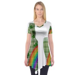 St. Patrick s day Short Sleeve Tunic