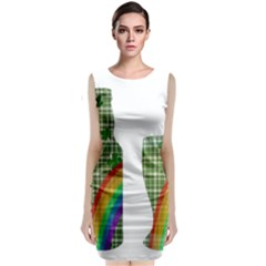 St. Patrick s day Classic Sleeveless Midi Dress