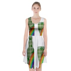 St. Patrick s day Racerback Midi Dress