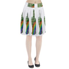 St. Patrick s day Pleated Skirt