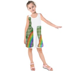 St. Patrick s day Kids  Sleeveless Dress