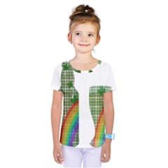 St. Patrick s day Kids  One Piece Tee