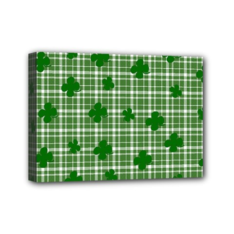 St. Patrick s day pattern Mini Canvas 7  x 5