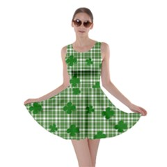 St. Patrick s day pattern Skater Dress