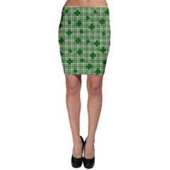 St. Patrick s day pattern Bodycon Skirt