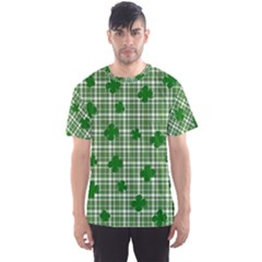 St. Patrick s day pattern Men s Sport Mesh Tee