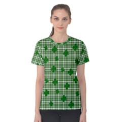 St. Patrick s day pattern Women s Cotton Tee