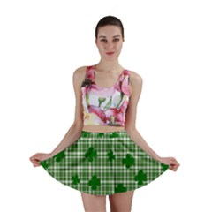 St. Patrick s day pattern Mini Skirt