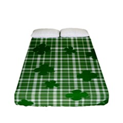 St. Patrick s day pattern Fitted Sheet (Full/ Double Size)