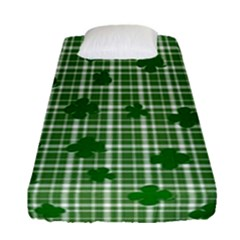 St. Patrick s day pattern Fitted Sheet (Single Size)