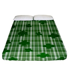 St. Patrick s day pattern Fitted Sheet (King Size)