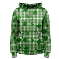 St. Patrick s day pattern Women s Pullover Hoodie
