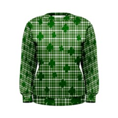 St. Patrick s day pattern Women s Sweatshirt