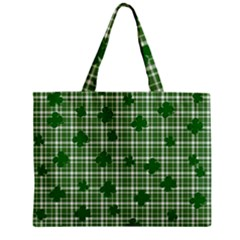 St. Patrick s day pattern Zipper Mini Tote Bag
