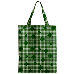 St. Patrick s day pattern Zipper Classic Tote Bag
