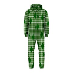 St. Patrick s day pattern Hooded Jumpsuit (Kids)