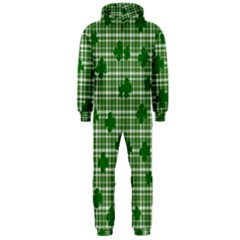 St. Patrick s day pattern Hooded Jumpsuit (Men)