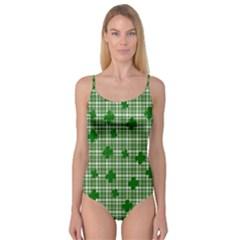 St. Patrick s day pattern Camisole Leotard