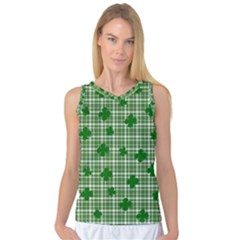 St. Patrick s day pattern Women s Basketball Tank Top