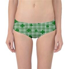 St. Patrick s day pattern Classic Bikini Bottoms