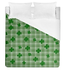 St. Patrick s day pattern Duvet Cover (Queen Size)